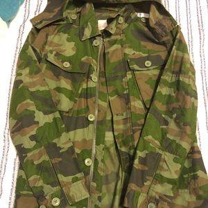 J.Crew Camo Field Jacket